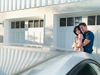 Garage Door into a Wall of Romance | Garage Door Repair Plymouth, MN